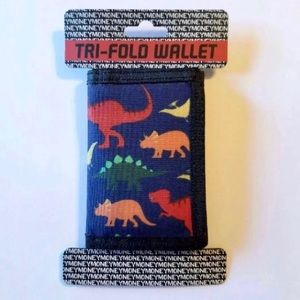 DINOSAURS TRIFOLD WALLET